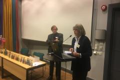 Örjan Hamrin och Susanne Abenius